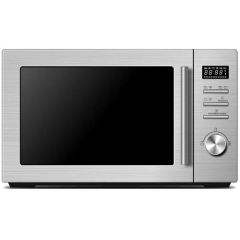 Midea AG034AB6-SS Silver Microwave Oven,34 Liter,With Grill