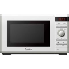 Midea AG034AR3-W White Microwave Oven, 34 Liter, With Grill, White