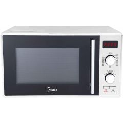 Midea AM925AGN-W Microwave Oven, 25 Liter, Without Grill, White