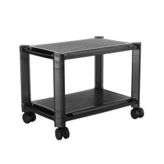 Lumi AMS-4L 2-Tier Mobile Modular Multi-Purpose Smart Stand With Shelf (Large Surface)