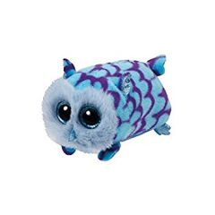 Teeny Tys Owl Mimi Blue 10cm