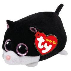 Teeny Tys Cat Cara Black White 10cm