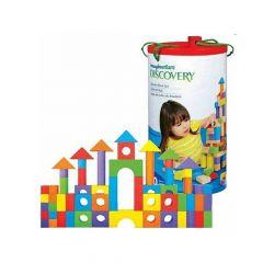 Imaginarium 200 Pieces Wooden Block Set