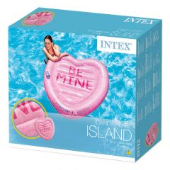 Intex Inflatable Candy Heart Island Float Lounge