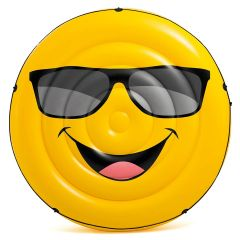 Intex Cool Guy Emoji Inflatable Island Float