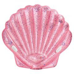 Intex Inflatable Pink Seashell Island Float