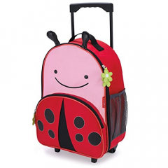 Skip Hop Luggage With Wheels-LadyBug