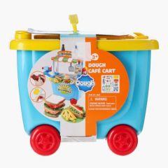 Play Go Dough Cafe Cart Playset