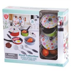 Play Go Deco Collection Cookware 15 pcs 6840