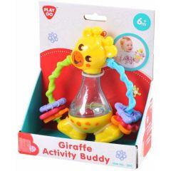 Play Go Giraffe Activity Buddy Crib Toy