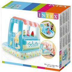 Intex 48672 Ice Cream Stand Inflatable Playhouse And Pool
