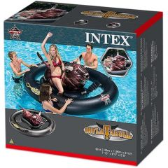 Intex 56280 Realistic Print Inflatabull Black Brown