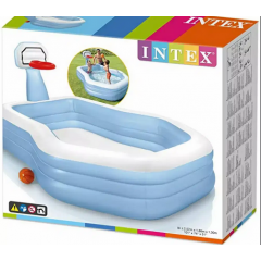 Intex 57183 Swim Center™ Shootin' Hoops Family Pool
