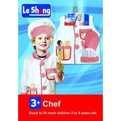 Chef Costume – 3 years +