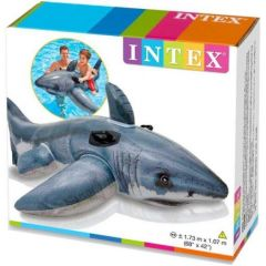 Intex 57525 White Shark Ride-On