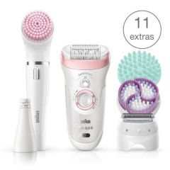 "Braun Beauty Set 9 9/985 ""SensoSmart Technology Extra wide head Micro-grip Technology High Frequency Massage system"