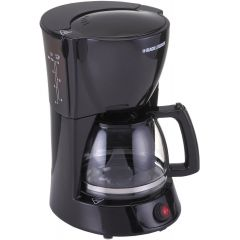 Black & Decker DCM600, 10 Cup Coffee Maker, 1.25L Glass Carafe and Keep Warm Feature for Drip Coffee and Espresso, 800W
