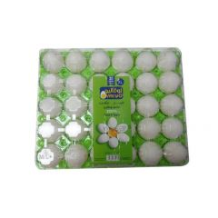Ovalyo Egg Vegetarian X-Large - 30 Pieces Plastic Box
