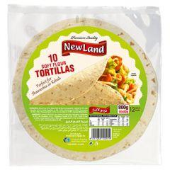 Newland 10 Flour Tortillas 12 Inches