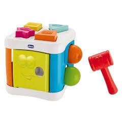 CHICCO TOY 2 in 1 Sort & Beat Cube