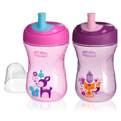 Chicco Advanced Cup 12m+ - pink
