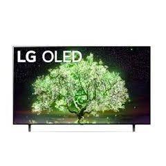 LG OLED TV 65 Inch A1 Series, Cinema Screen Design 4K Cinema HDR WebOS Smart AI ThinQ Pixel Dimming