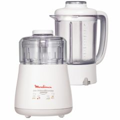Moulinex DPA2 Chopper and Blender, 6 Blades, 1000W
