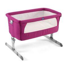 Chicco Next2me Sleeping Crib, Fuchsia