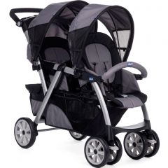 Chicco Together twin stroller coal