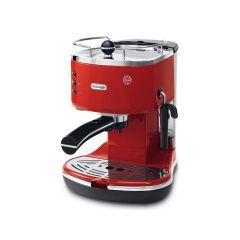 Delonghi ECO311.r  Icona ECO Pump Espresso Maker 1100w, 1.4 Liter Tank, Red