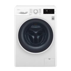 LG Front Load Washer, 8 Kg, 1400 RPM, 6 Motion Direct Drive, Add Item, Smart Diagnosis