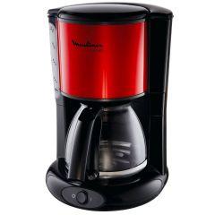 Moulinex FG360D10 Subito Coffee Maker, 1000W, 1.25 Liter, Black/Red