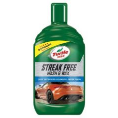 Turtle Wax FG7636 Green Line Streak Free Wash & Wax, 500ml