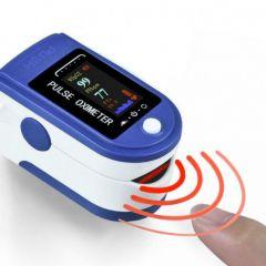 Pulse Oximeter, Oxygen Saturation Sensor (SpO2), Fingertip Pulse Oximeter, Monitors Heart Rate