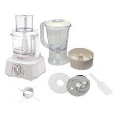 Moulinex FP654127 Master Chef Food Processor, 850W, 3 Liters, White