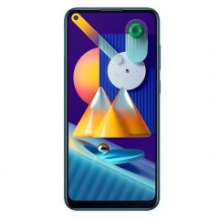 Samsung Galaxy M11, 6.4-Inch Display, 32GB, 3GB RAM, Dual-SIM, 4G, Blue