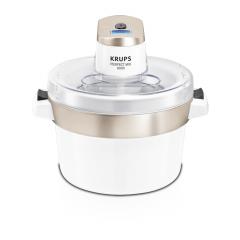 Krups GVS-241 Ice Cream Maker, 100W, 1.6 Liter, White