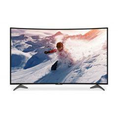 Haier Tv Screen Curved , 55 Inch , Smart TV , UHD , Black , LE55Q9000UA
