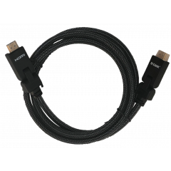 D-Link HCB-4AABLBR-1-5 HDMI 2.0 Cable With 180 Degree Connector, 1.5 Meter