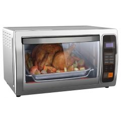 Haier - Electric Oven (1500W) Color. Stainless steel