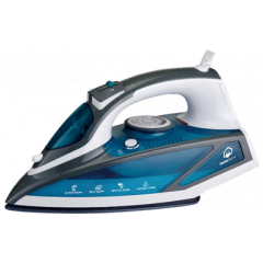 Home Electric HIT-88 Steam Iron , 2200W, Blue