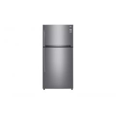 LG Top Mount Refrigerator 630L Gross Capacity, Inverter Linear Compressor, DoorCooling+, Hygiene FRESH+ , Platinum Silver Color