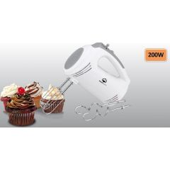 Home Electric HM-34 Hand Mixer, 5 Speeds, 200W
