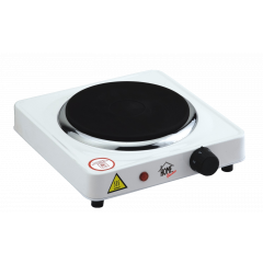 Home Electric HP-1010 Hot Plate, 1500W, Iron plate 185MM, White