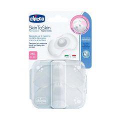 Chicco Skin To Skin Nipple Shields M/L 2 PC