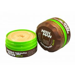 Nishman Hair Styling Strong Matte Wax 08 150ml