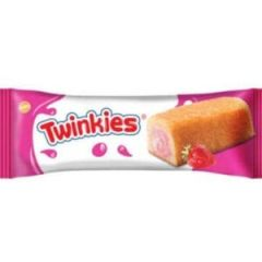 Twikies cake with strawberry cream packet