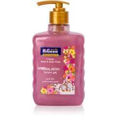 Higeen Creamy Hand And Body WashTropical Orchids 500ml