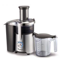 Moulinex JU610D10 Juicer, 800W, 1.2 Liter, Black/Stainless Steel