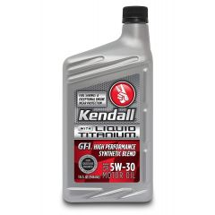 Kendall 1057254 GT-1 Motor Oil with Liquid Titanium 5W-30 - 1 Quart